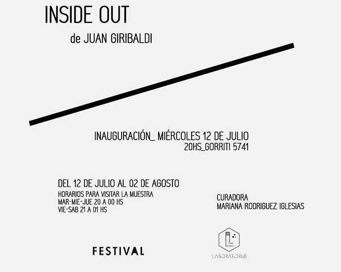 Juan Giribaldi - INSIDE OUT